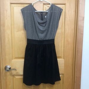 BeBop Black and White Dress NWT